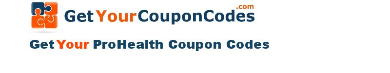ProHealth coupon codes online